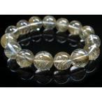 シルバールチル(銀針)水晶ブレス14mmB513