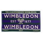 『即日出荷』「2017新製品」WIMBLEDON ウィンブルドン [チャンピオンシップタオル メンズ  987043]