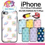 ケアベア iPhoneケース iPhone11 Pro MAX iPhone8 iPhoneXS iPhoneXR iPhoneXSMAX 携帯カバー ケアベアーズ 携帯ケース スマホケース カード収納 ミラー付き