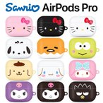 Sanrio Characters Airpods Pro Big Face Hard /サンリオ/ハローキティ/エアーポッズ プロ ハード ケース カバー 人気 可愛い 公式 グッズ キャラクター