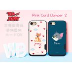 【送料無料/正規品】 トムとジェリー iPhoneケース カード パンパー (2) 携帯カバー 収納 カード グッズ iPhone8 iPhone7 iPhone6s iPhoneX Galaxy
