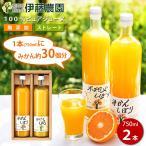 お中元 ギフト 敬老の日 ジュース 詰め合わせ オレンジジュース 無添加 国産 大瓶 2本
