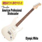 Fender USA American Professional Stratocaster  Olympic White/R