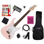 調整済で弾きやすい国産エレキギター初心者セットGRECO WS-STD SSH LPK/R