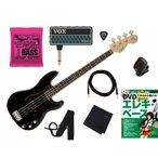 Squier by Fender Affinity Series Precision Bass PJ Black スクワイア フェンダー