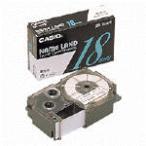 ネームランド スタンダードテープ 白 XR-18WE [黒文字...