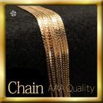 【itsubajewelry】キヘイチェーンネックレス ゴールド18KGF シンプル / プレゼント ギフト 【送料無料】Ch-002