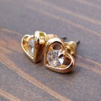 【itsubajewelry】ピアス イヤリング レディース プラチナ シンプル / プレゼント ギフト ブライダル 【送料無料】P-006G