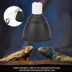 爬虫類ヒーター Acouto ペット 爬虫類 両生類 屋内飼育用品 爬虫類電球ホルダー タートル電球ホルダー UVA/UVBライト(米国プラ