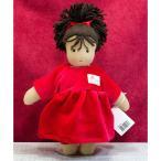 ジルケ人形(SILKE) ロッテ 赤 (LOTTE, DUNKEL) 28cm KOSEN(ケーセン社)知育玩具