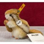 テディベア ぬいぐるみ Steiffシュタイフ モヘア シマリス ケッキー 10cm(Kecki Chipmunk)