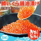 鱒いくら醤油漬け 北海道産 500g 送料無料 ギフト 海鮮