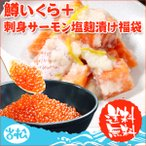 鱒いくら 500g 刺身サーモン塩麹漬け 250g 福袋 送料無料 ギフト 海鮮