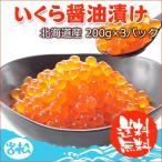 Salmon Roe - いくら醤油漬け200g×3パック 北海道産 送料無料