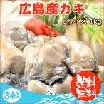 ショッピング広島 広島産カキ Lサイズ1kg  35〜40粒  送料無料