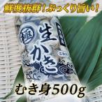 むきたて!身の縮まない瀬戸内相生産牡蠣のむき身500g(生食用)