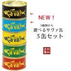 人気のサバ缶をお好みで 選べるサヴァ缶 3缶セット 送料込