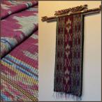 バリ アジアン雑貨 布 イカット 壁掛け 飾り タペストリー マルチクロス ジェパラ 10