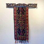 バリ アジアン雑貨 布 イカット 壁掛け 飾り タペストリー マルチクロス ジェパラ 9