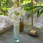 バリ アジアン雑貨 インテリア ガラス フラワーベース 花瓶 花器 鉢 一輪挿し プランター おしゃれ Crackle