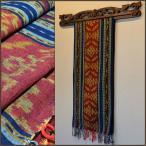 バリアジアン雑貨布イカット壁掛け飾りタペストリーマルチクロスジェパラ1
