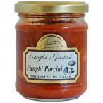 【代引き・同梱不可】イタリア INAUDI社 イナウディ トマトとポルチーニ茸のパスタソース 180g×6個 S1