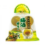 【代引き・同梱不可】金澤兼六製菓 ギフト 紀州南高梅 梅酒ゼリー 4個入巾着×12セット KUN-4