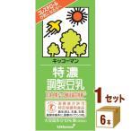 キッコーマン 特濃調整豆乳 パック 1L 1000ml(6本入)