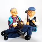 おじいちゃん&おばあちゃん人形 ゴルフ
