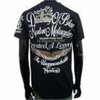 Norton ノートン 吸水速乾素材半袖Tシャツ 黒 72N1018 バイク バイカー