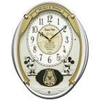 セイコー キャラクター電波掛時計 ディズニータイム ミッキー&フレンズ FW567W 電波時計/掛け時計/振り子時計/からくり時計