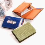ショッピングローン クロコダイル 多機能 カードケース シャイニング 加工 / ヘンローン / レディース / パスケース / コンパクト財布