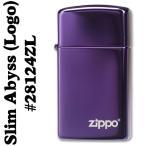 zippo(ジッポーライター)28124ABYSS SLIM(アビススリム)ZIPPOロゴ入り #28124ZL(ネコポス対応)