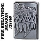 zippo(ジッポーライター) FIREBREATHING DRAGON ドラゴン メタル #28969