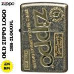 zippo(ジッポーライター)アンティーク OLD ZIPPO LOGO  真鍮バレル仕上げ z2BB-ZLOGOFL  送料無料 (ネコポス対応)