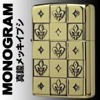 Zippo ジッポー  MONOGRAM ユリの紋章  2BI-YRMONO