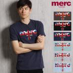 """merc london/メルクロンドン Tシャツ """"BROADWELL"""" 1709210"""