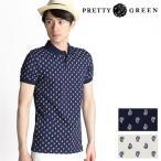 PRETTY GREEN/プリティーグリーン TARVES ペイズリープリント ポロシャツ GRXG43288550