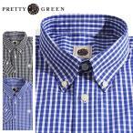 PRETTY GREEN/プリティーグリーン ギンガムチェック柄ボタンダウンシャツ EBSWORTH GINGHAM SHIRTS GRXJ52358756