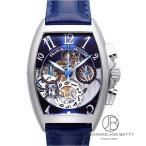 フランク・ミュラー FRANCK MULLER トノー カーベックス クロノグラフ ビッグデイト 8083CCGDFOAC BLUE 【新品】 時計 メンズ