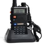 【翌日発送】トランシーバー 一台 無線機 アマチュア無線機 充電器付 災害 地震 対策 変換アダプター イヤホンマイク付 アンテナ付 UV-5R FM機能付き 新入荷