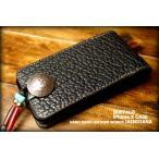 アメリカバイソンiPhone Xケース ブラック