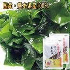 ポイント 消化 わかめ 国産 乾燥 カットわかめ ワカメ 40g  熊本県天草産 メール便 コリコリして美味しい お試しセット ポイント消化  食品