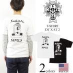 ドッグタウン X スーサイダルテンデンシーズ DOG TOWN 半袖Tシャツ DTXST 2 スケート (米国製 SUICIDAL TENDENCIES)