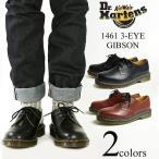 ドクターマーチン Dr. Martens 1461 3ホール ギブソンシューズ ブラック (3EYE GIBSON SHOE ポストマンシューズ)