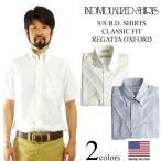 インディビジュアライズドシャツ INDIVIDUALIZED SHIRTS 半袖ボタンダウンシャツ レガッタオックスフォード アメリカ製 米国製
