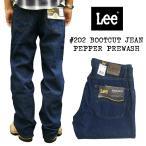 リー Lee #202 ブーツカット ジーンズ ペッパープリウォッシュ  ■裾上げ無料■(BOOTCUT JEAN Pepper Prewash)