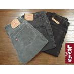 【中古】リーバイス LEVI'S USED 505 ブラック  (デニム ジーンズ ジーパン ユーズド パンツ)