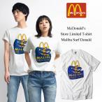 海外買い付け商品 マクドナルド マリブ店限定 半袖Tシャツ 別注チャンピオンベース ホワイト(McDonald's Champion)