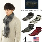 ペンドルトン PENDLETON ウィスパー ウール マフラー (米国製 アメリカ製 スカーフ WHISPER WOOL MUFFLER)